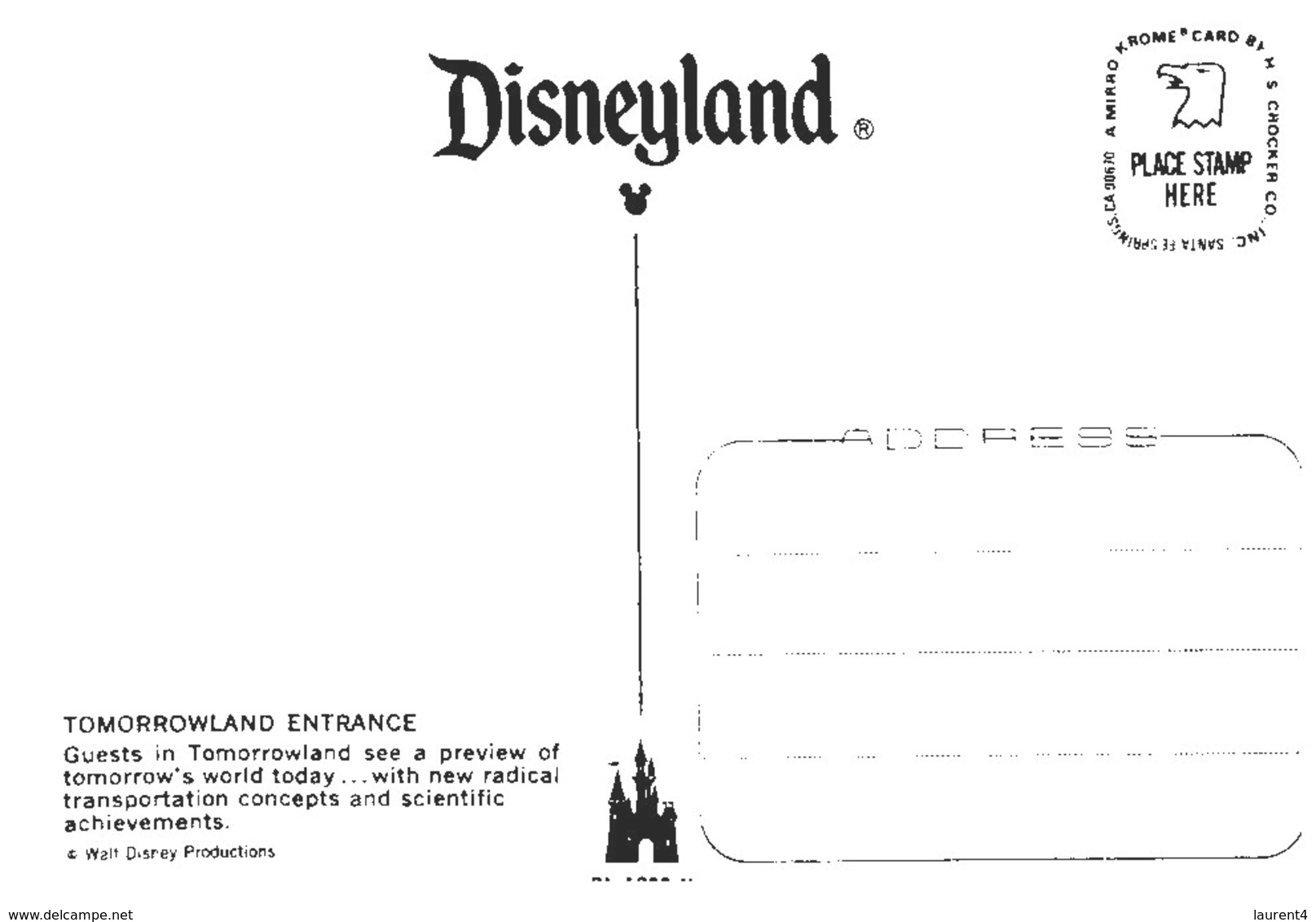 (7777) Dineyland - Tomorrowlands - Disneyland