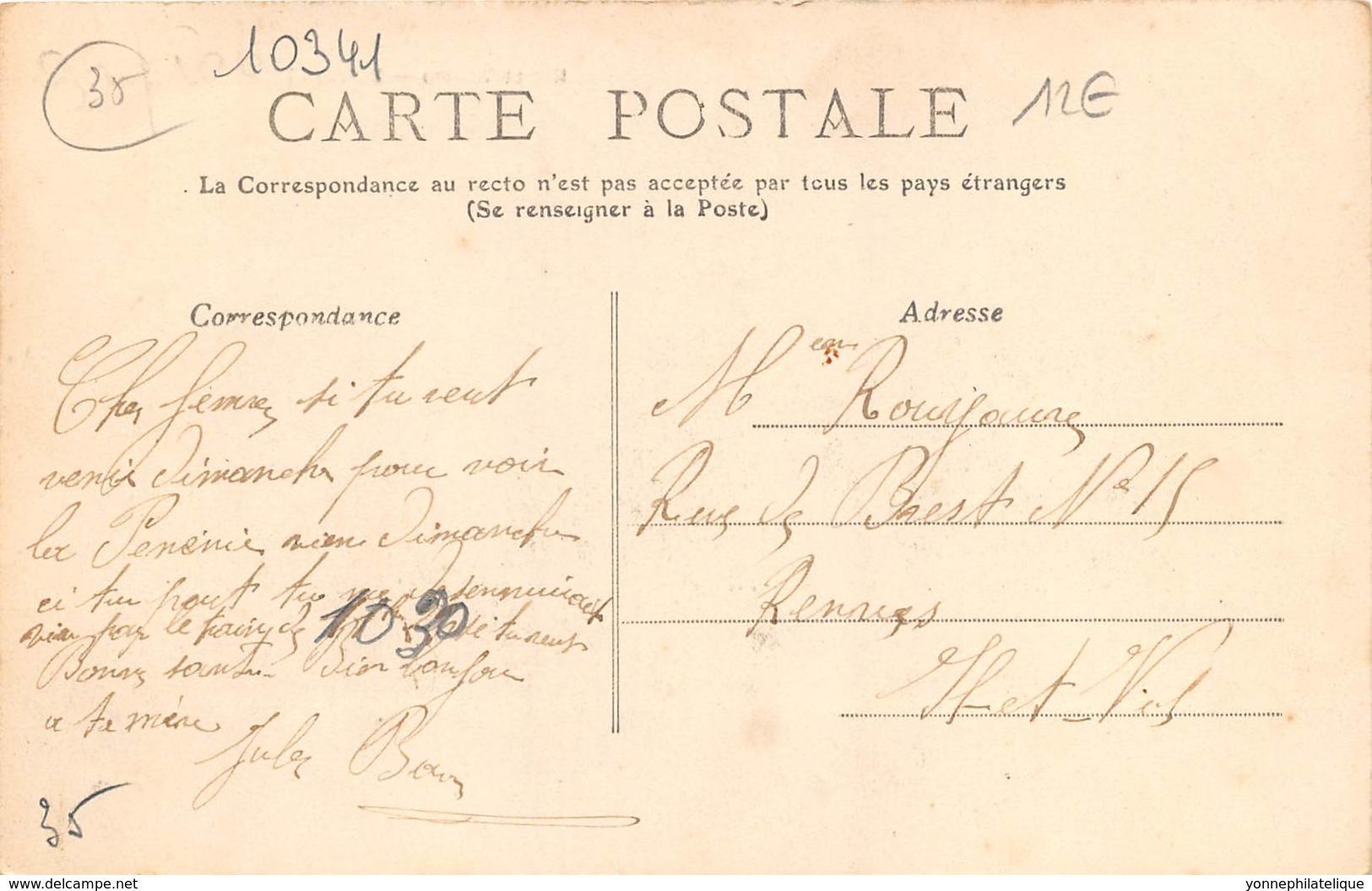 35 - Ille Et Vilaine / 10341 - Chateaubourg - Une Rue - France