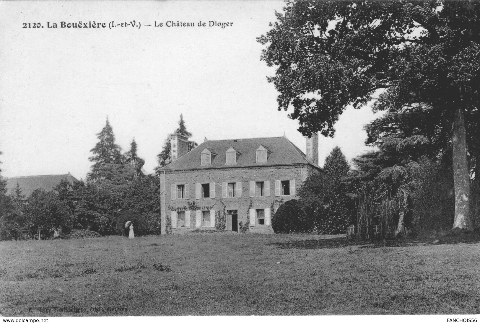 La Boixière (35) - Le Château De Dioger - Francia