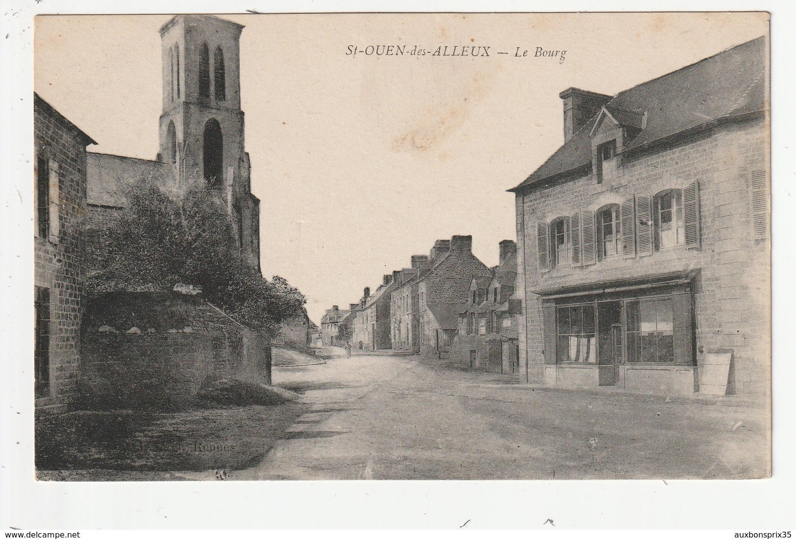 SAINT OUEN DES ALLEUX - LE BOURG - 35 - Other Municipalities