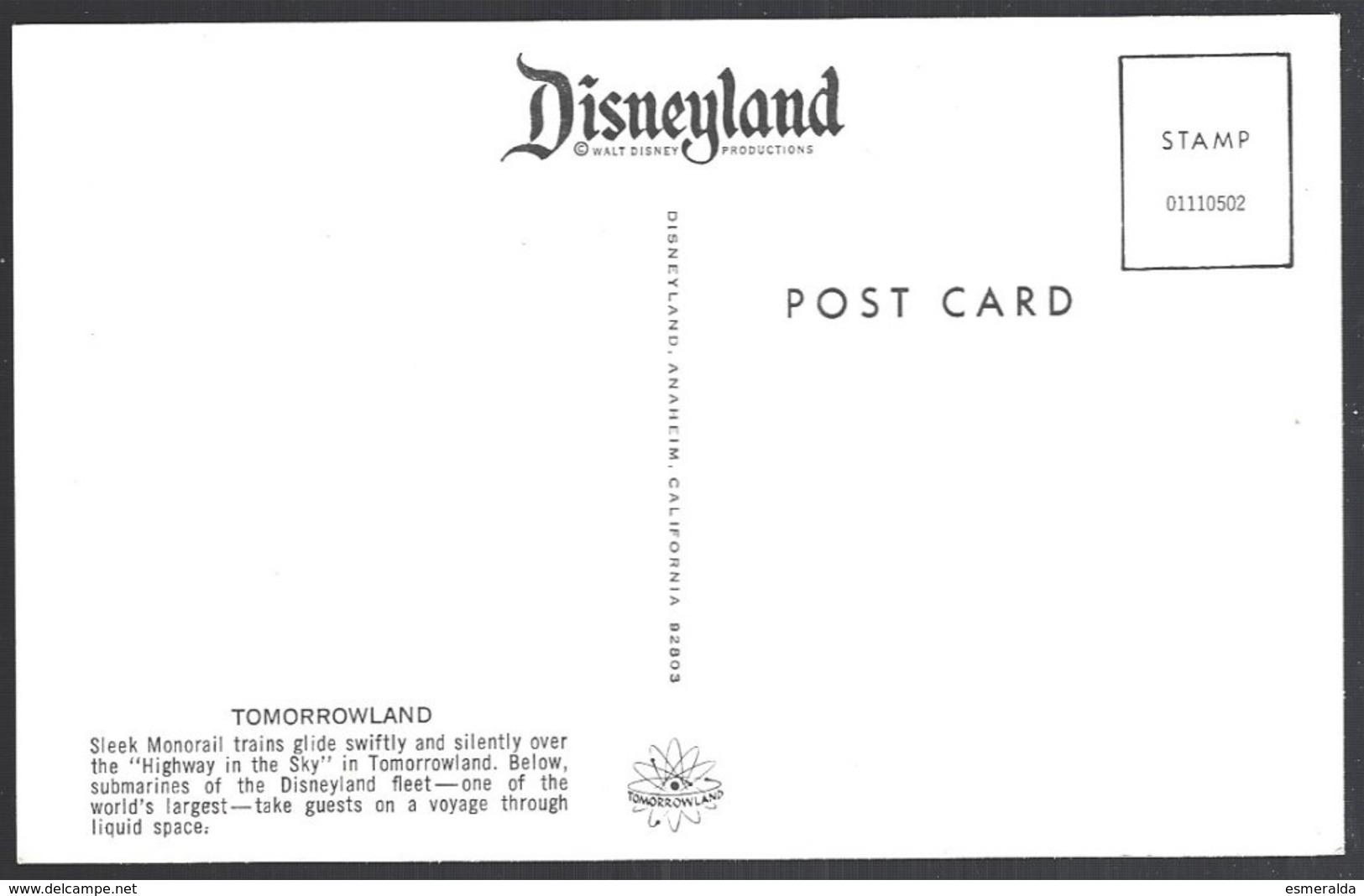 CP Disneyland, Tomorrowland, Monorail Train - Disneyland