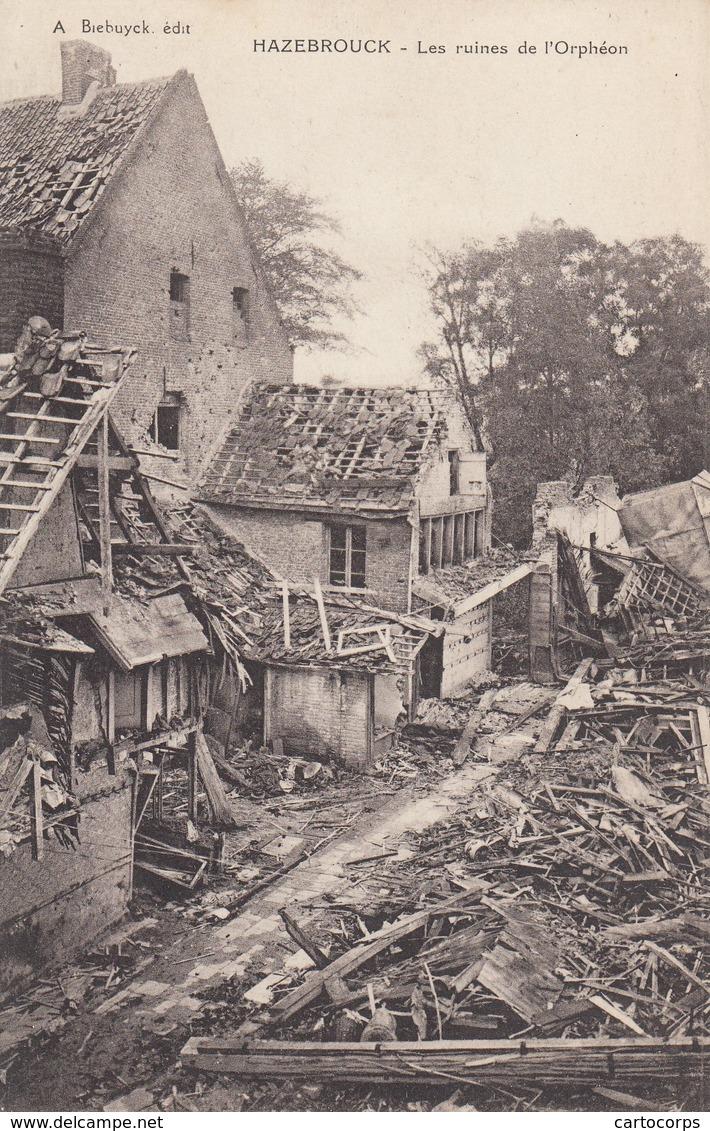 59 - Nord - Hazebrouck - Les Ruines De L'Orphéon - Hazebrouck