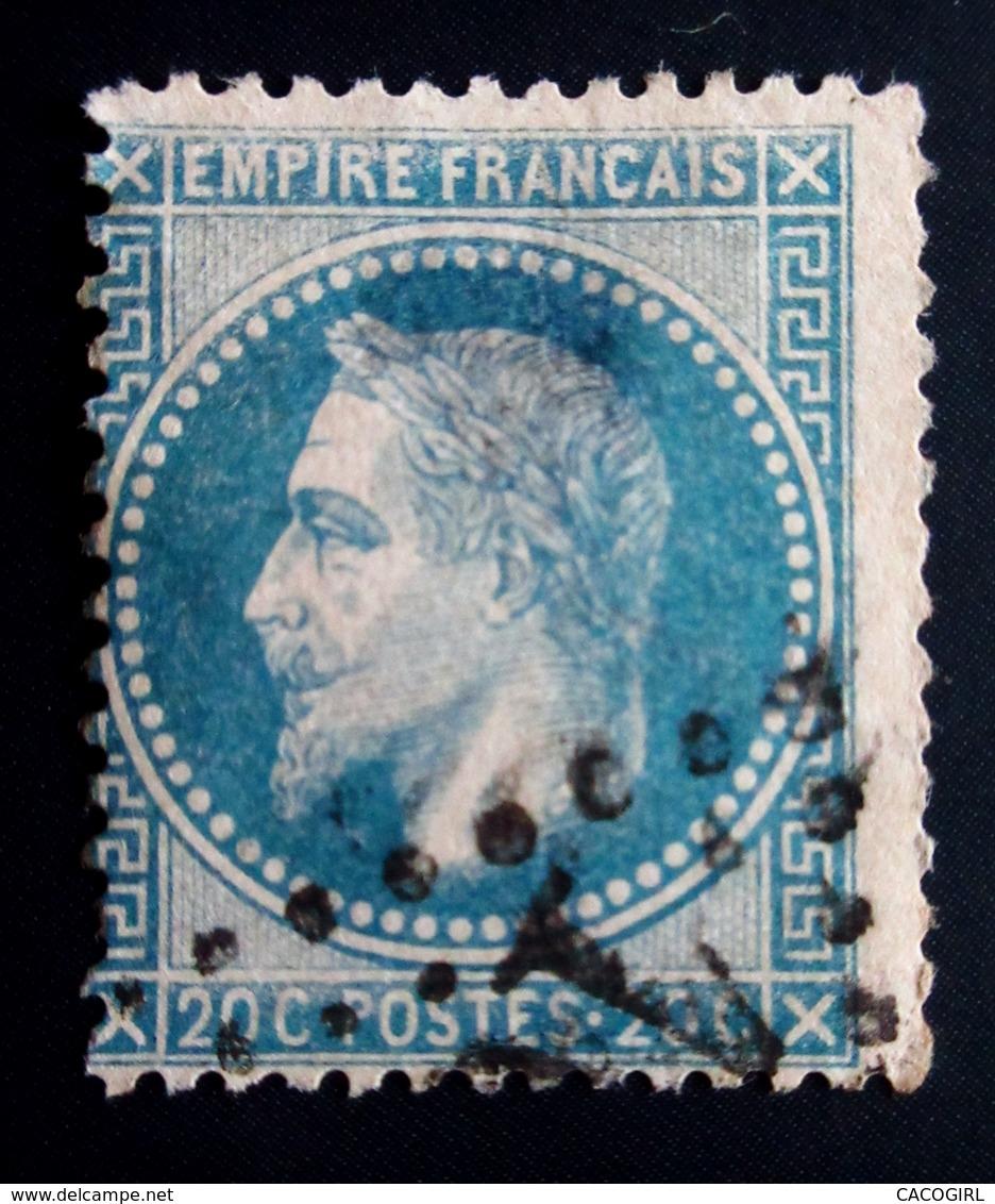 1868 France Yt 29Ba .  Empire Français Napoleon Laure ; OBLITERE - 1863-1870 Napoléon III Lauré