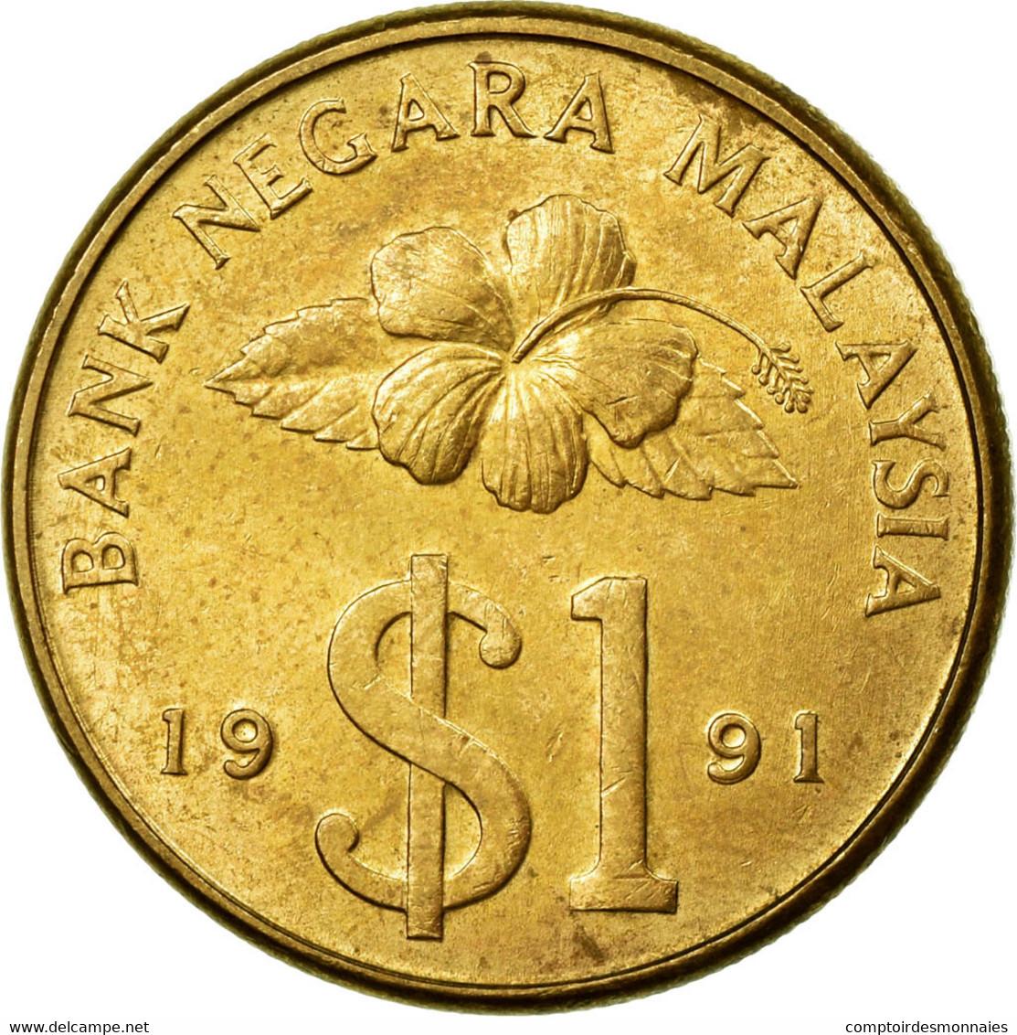 Monnaie, Malaysie, Ringgit, 1991, TTB, Aluminum-Bronze, KM:54 - Malaysie