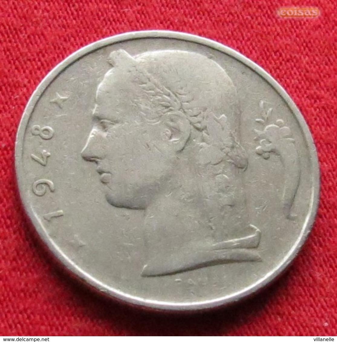 Belgium 5 Francs 1948 KM# 135.1 Belgie Belgica Belges Belgique - Belgique