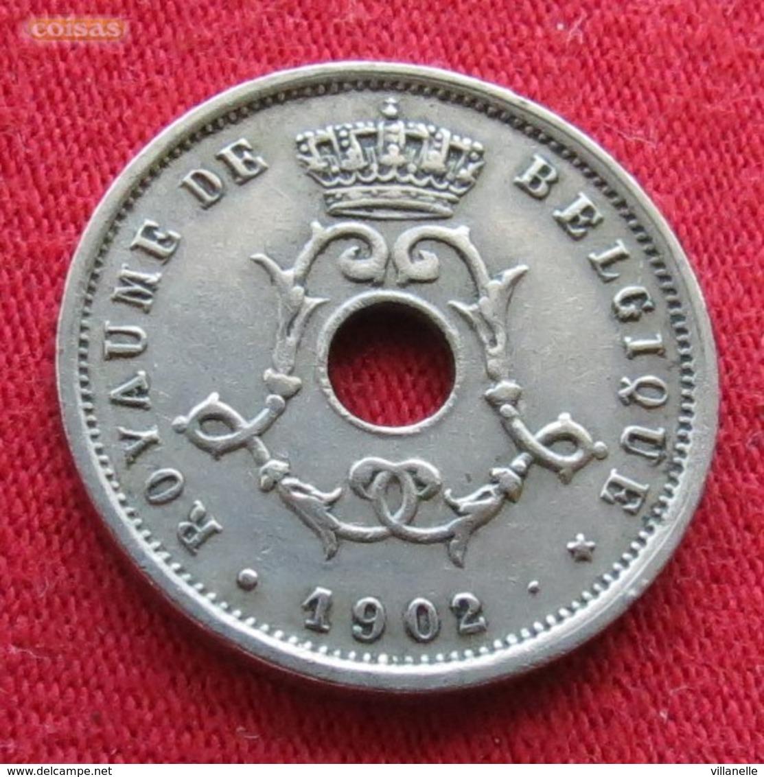 Belgium 5 Centimes 1902 KM# 46 Belgique Belgica Belges Belgie - Belgique