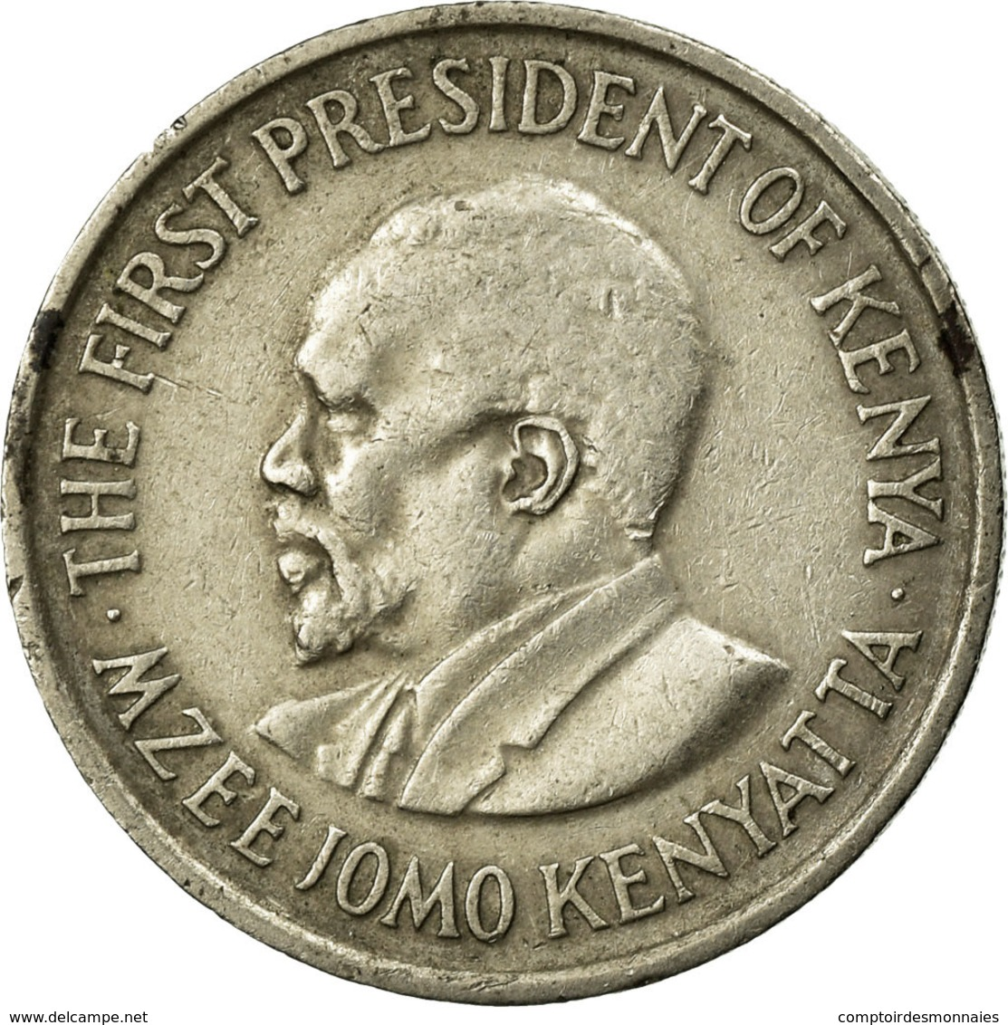 Monnaie, Kenya, 50 Cents, 1975, TTB, Copper-nickel, KM:13 - Kenya