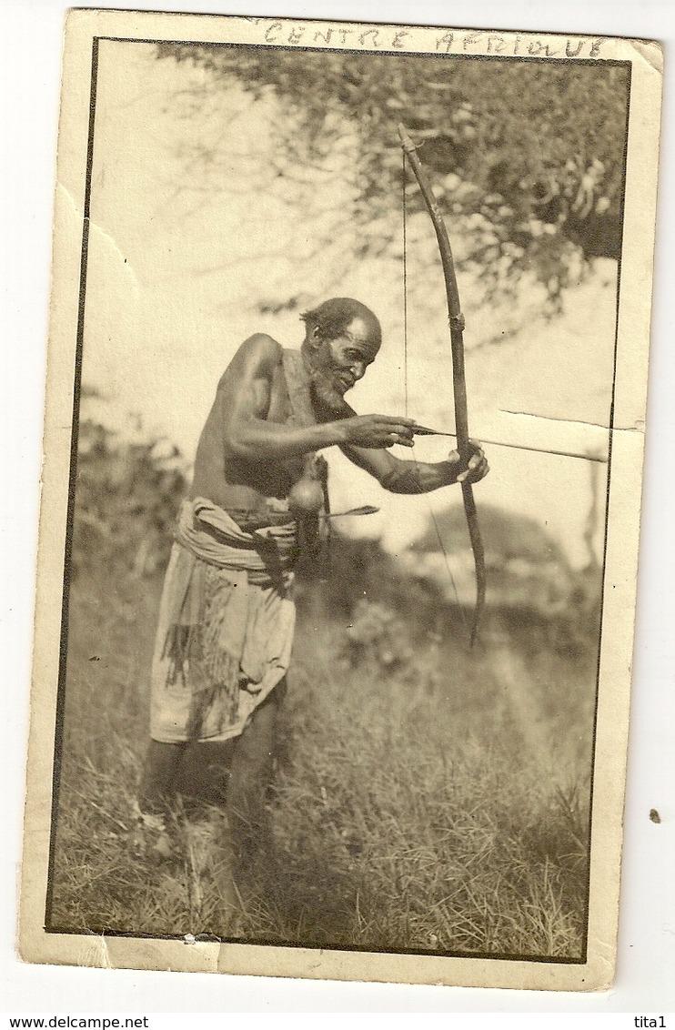 """S7162 - Indigène Tireur à L'arc """"Oblitérée à Bangui"""" - Centrafricaine (République)"""