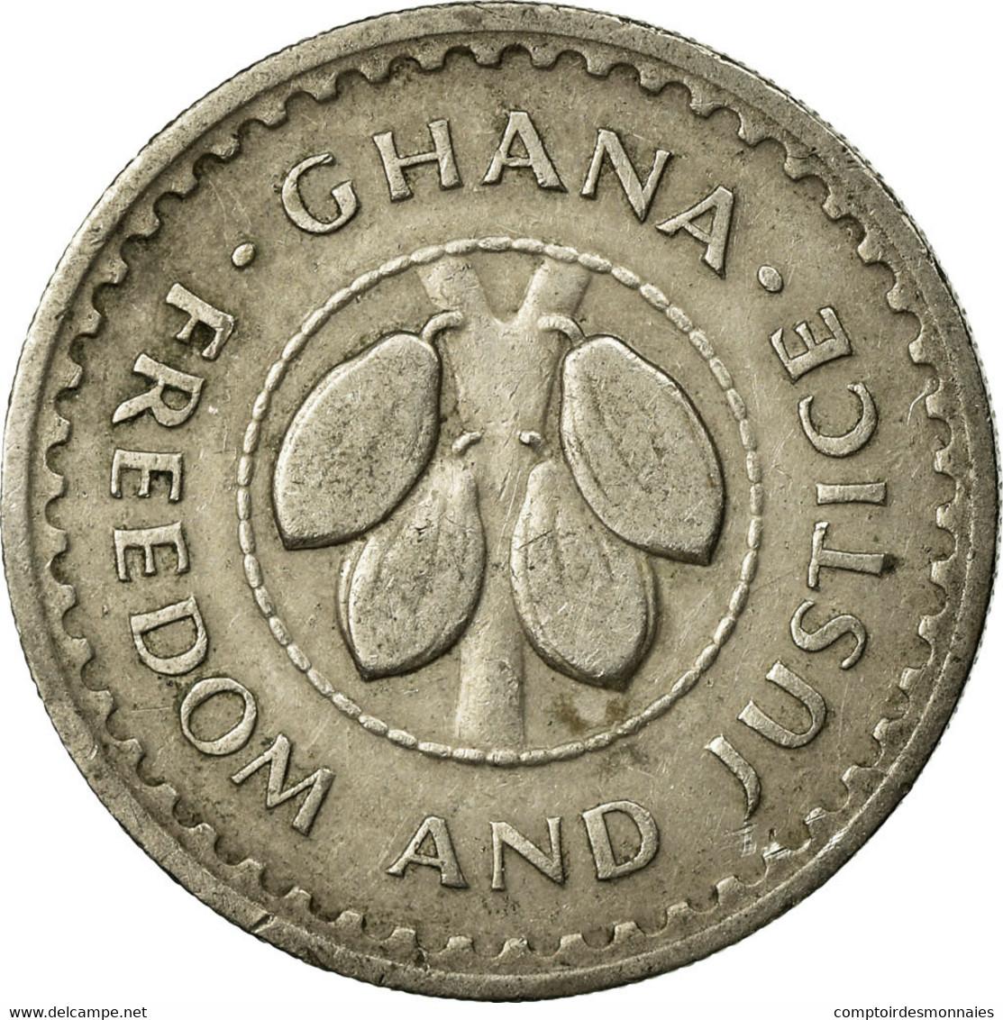 Monnaie, Ghana, 10 Pesewas, 1975, TTB, Copper-nickel, KM:16 - Ghana