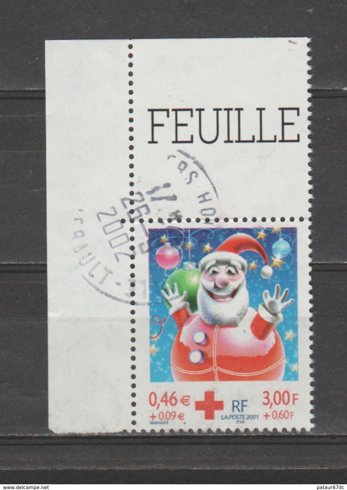 FRANCE / 2001 / Y&T N° 3436 (de Feuille Avec Bord) - Oblitération Du 26/05/2002. SUPERBE ! - Frankreich
