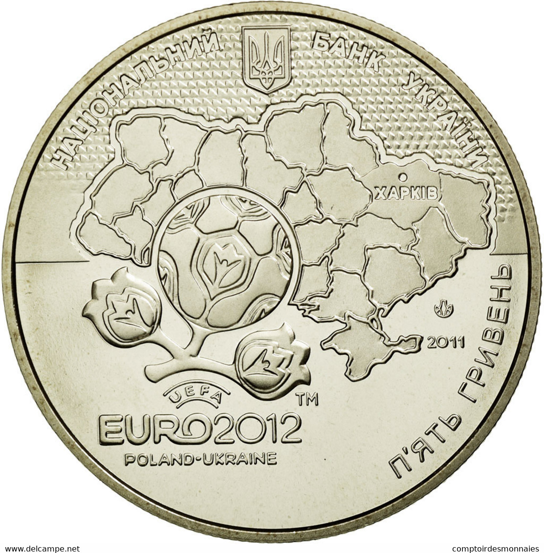 Monnaie, Ukraine, 5 Hryven, 2011, Kyiv, SPL, Copper-Nickel-Zinc, KM:650 - Ukraine