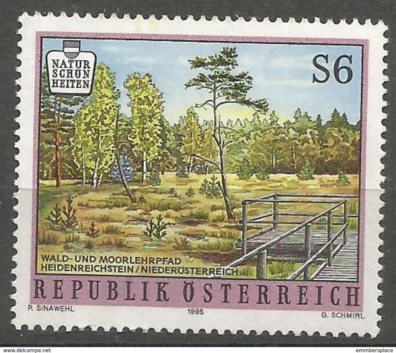 Austria - 1995 Moor In Lower Austria MNH **   Mi 2156  Sc 1497 - 1945-.... 2nd Republic