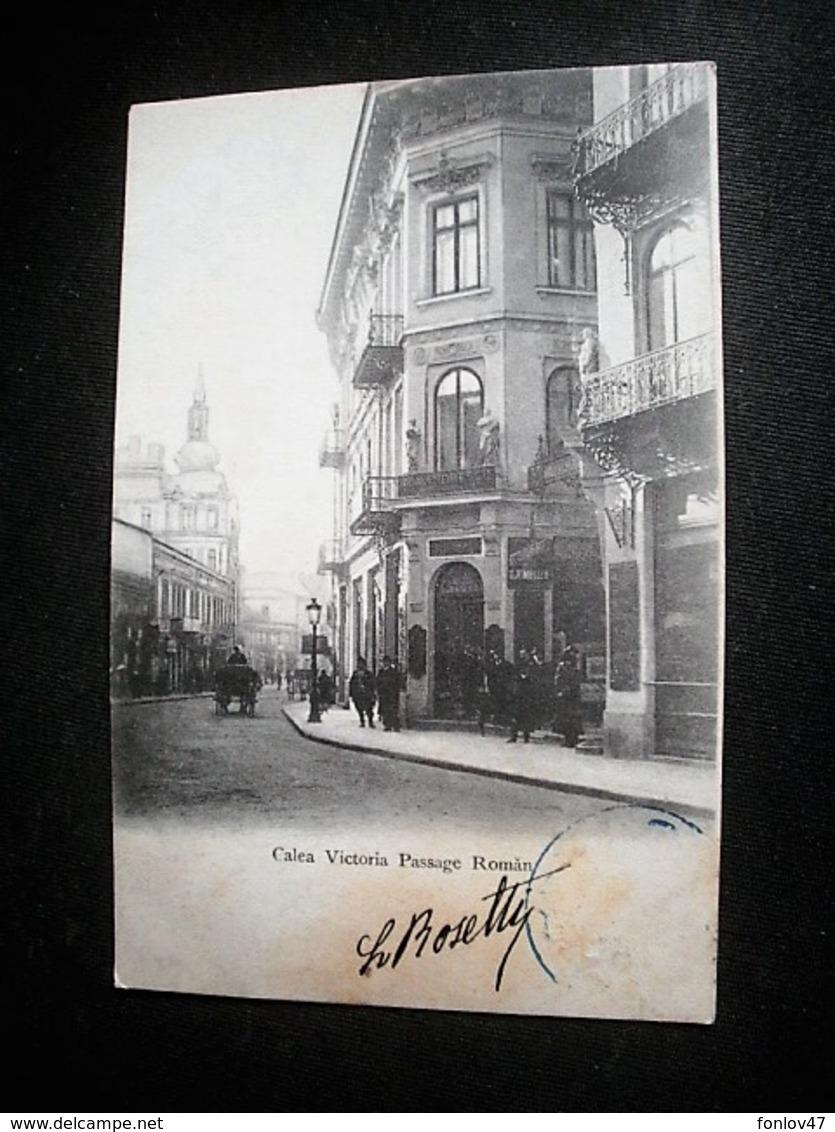 CALEA VICTORIA PASSAGE ROMAN - Romania