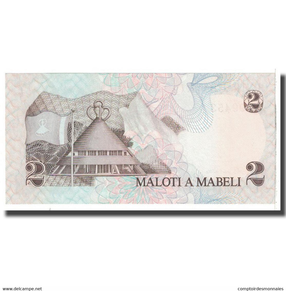 Billet, Lesotho, 2 Maloti, 1984, KM:4b, NEUF - Lesotho