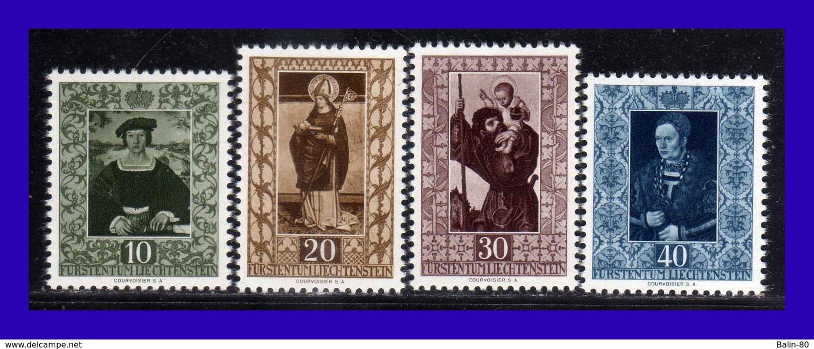 1953 - Liechtenstein - Sc. 266 - 269 - MNH - LI - 194 - 136 - Liechtenstein