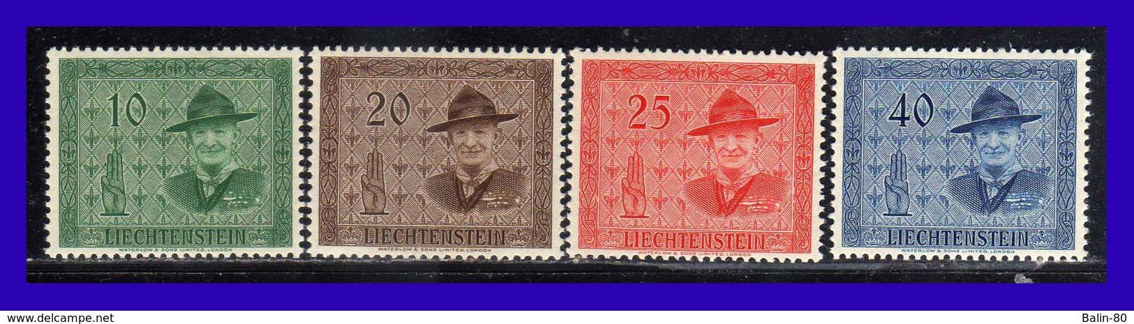 1953 - Liechtenstien - Sc. 270 - 273 - MNH - LI - 194 - 137 - Liechtenstein
