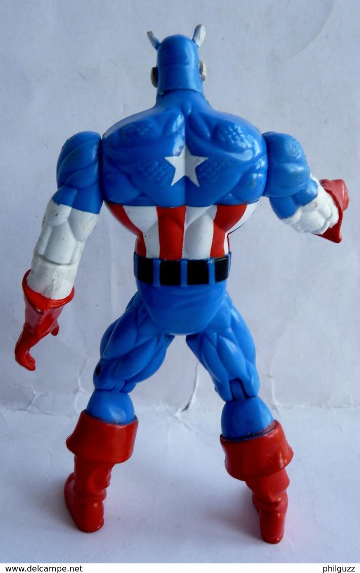 FIGURINE CAPTAIN AMERICA TOY BIZ INC 1996 AMERICAN HEROES - Marvel Heroes