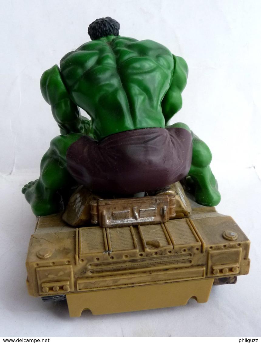 FIGURINE HULK SUR UN CHAR 2003 MARVEL - Marvel Heroes