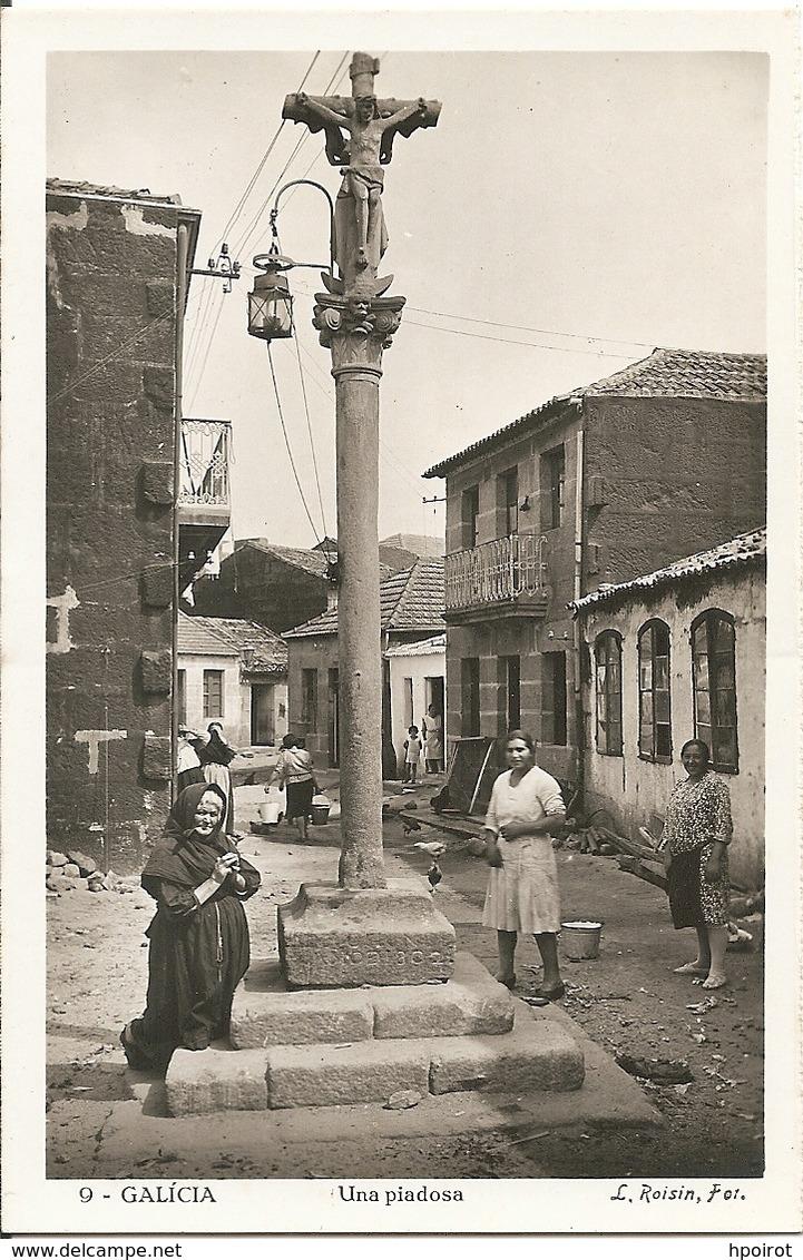 GALICIA - UNA PIADOSA - FORMATO PICCOLO - (rif. B49) - Spagna