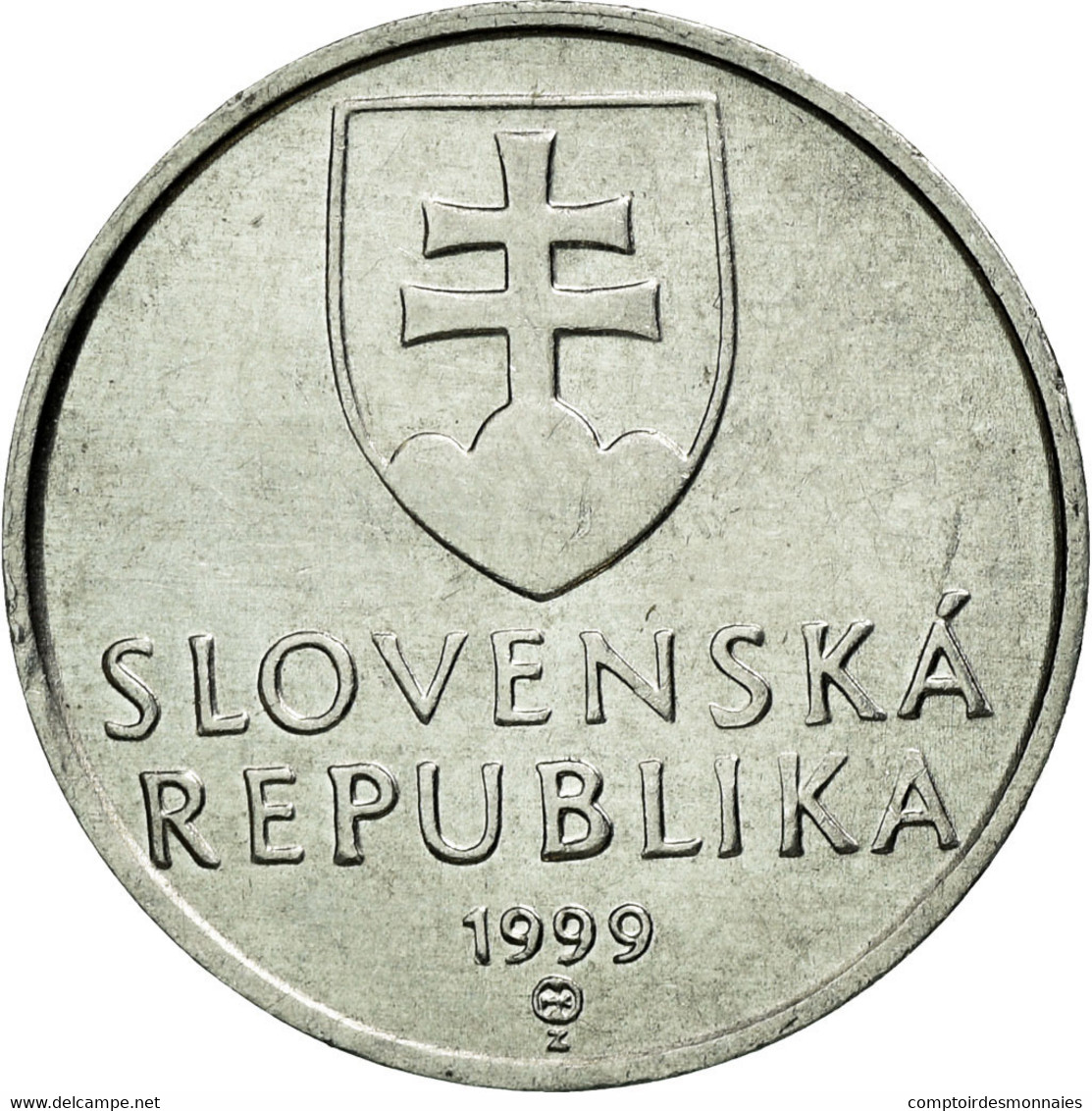 Monnaie, Slovaquie, 10 Halierov, 1999, SUP, Aluminium, KM:17 - Slovaquie