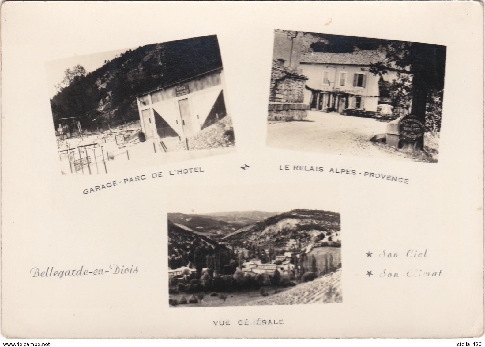 Bellegarde En Diois  Hotel Du Relais  Alpes Provence - France