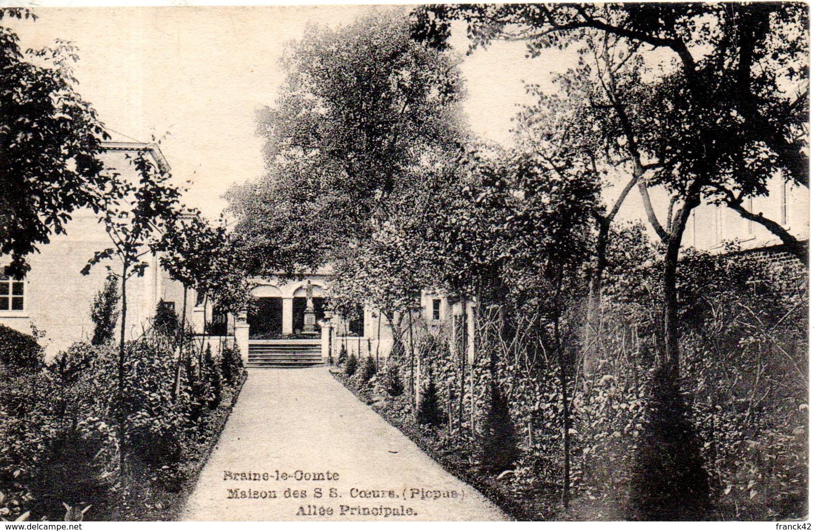 Belgique. Braine Le Comte. Maison Des S.S Coeur (picpus). Alée Principale - Braine-le-Comte