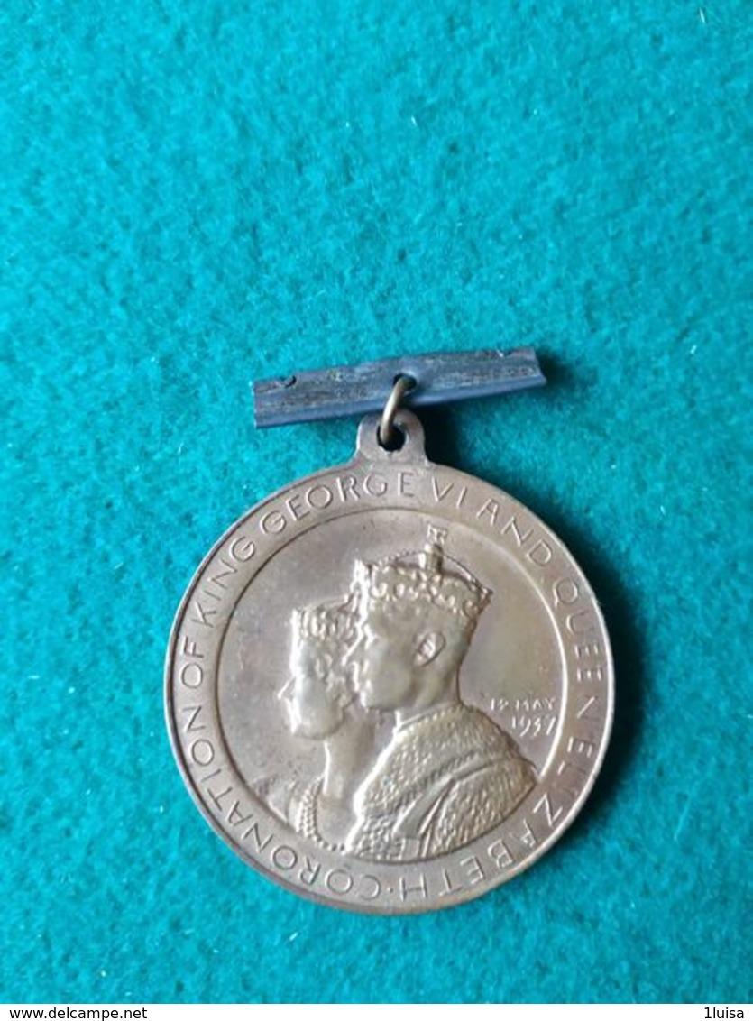 Incoronazione Giorgio VI° E Elisabetta 1937 - Monarchia/ Nobiltà