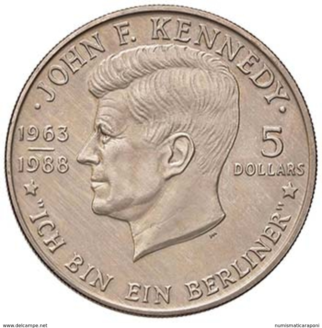 NIUE  Elisabetta II (1952)  5 Dollari 1988 Km#17 NI D.008 - Niue