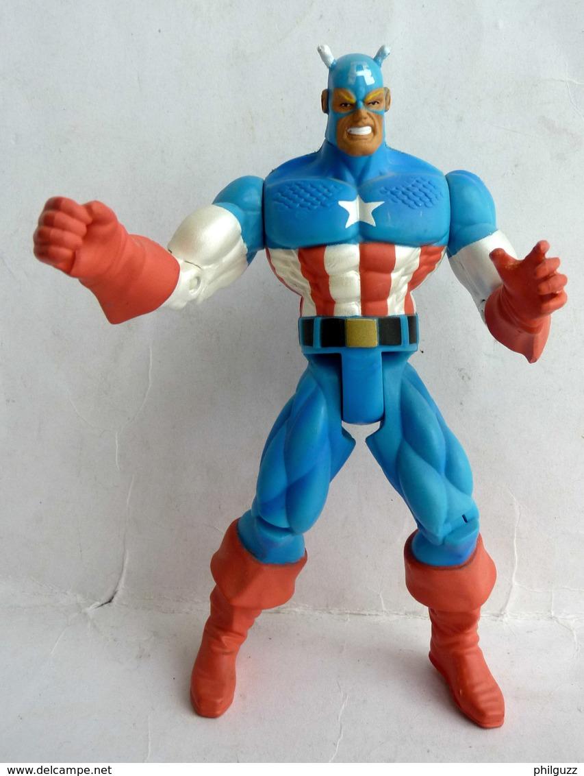 FIGURINE CAPTAIN AMERICA TOY BIZ INC 1996 (2) - Marvel Heroes