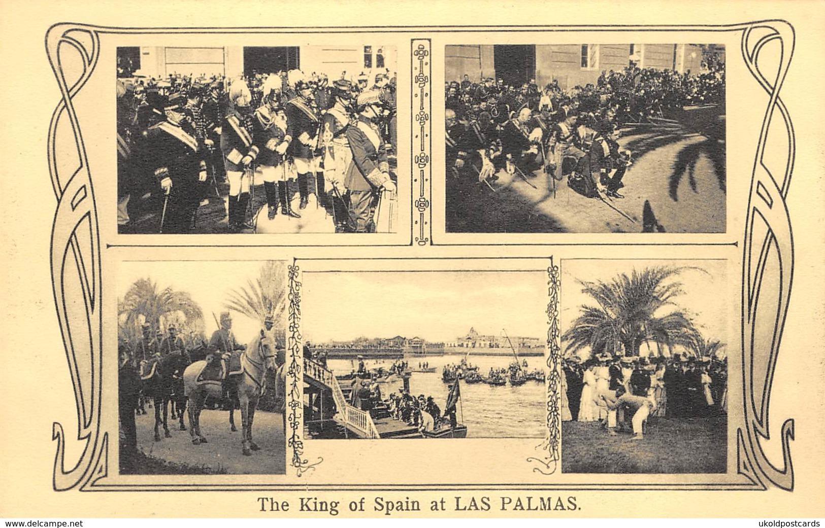 CPA - Espana / Spain -  Las Palmas , The King Of Spain - La Palma