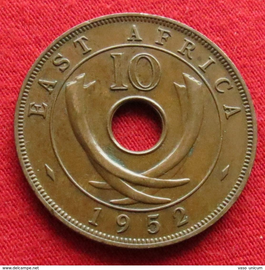 Africa East 10 Cents 1952 H #2 - Monnaies
