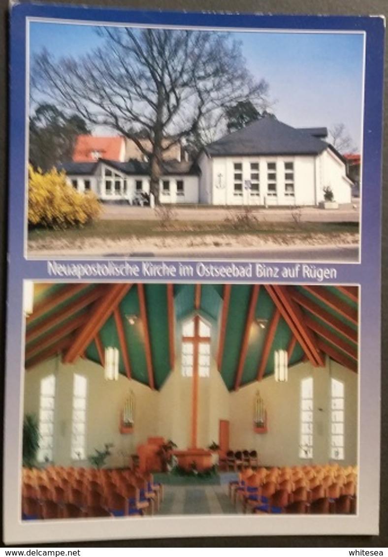 Ak Deutschland  - Ostseebad Binz - Neuapostolische Kirche,church,Eglise - Ruegen