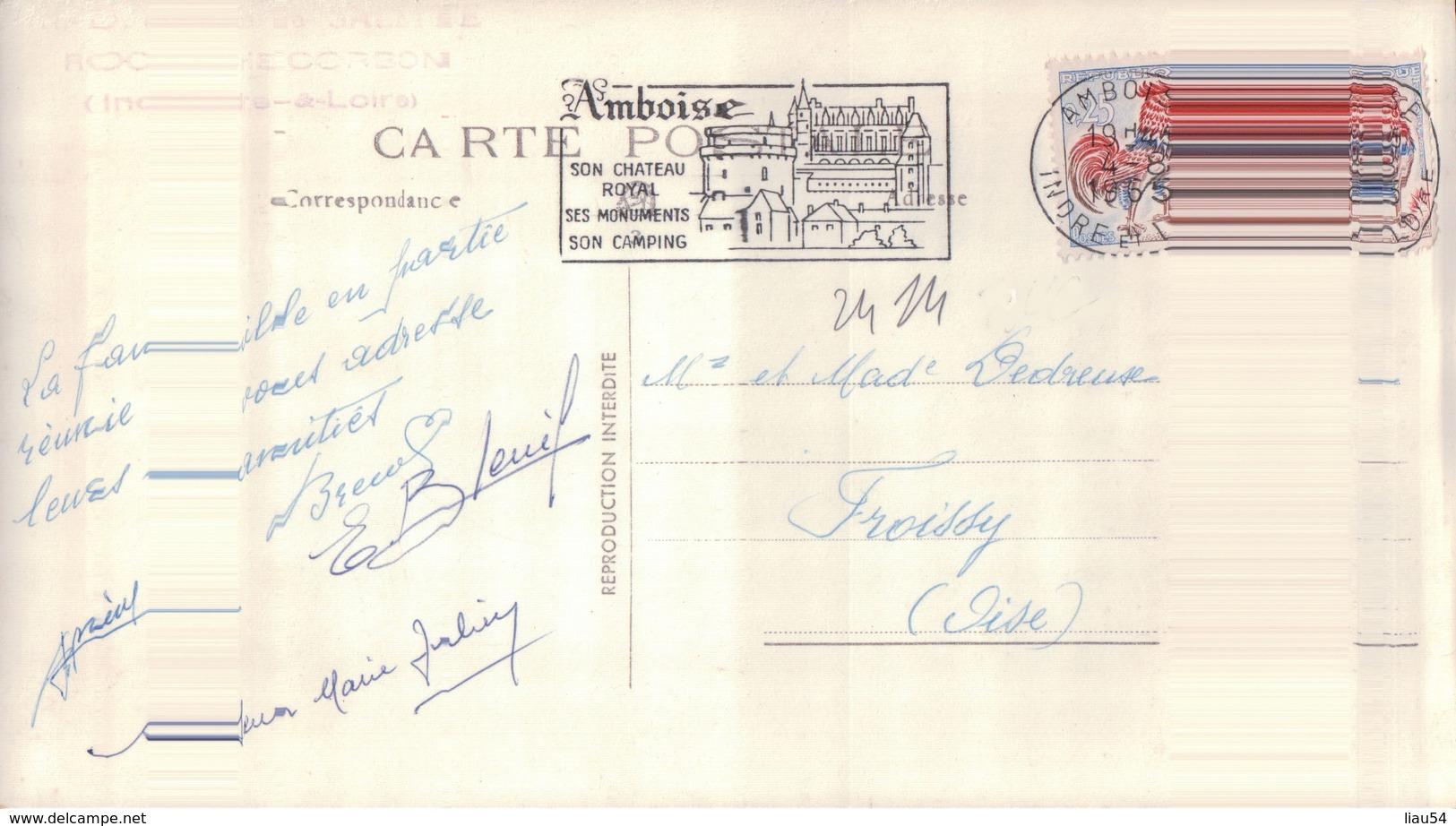 CARTE PHOTO N.D. De La SALETTE ROCHECORBON - Rochecorbon
