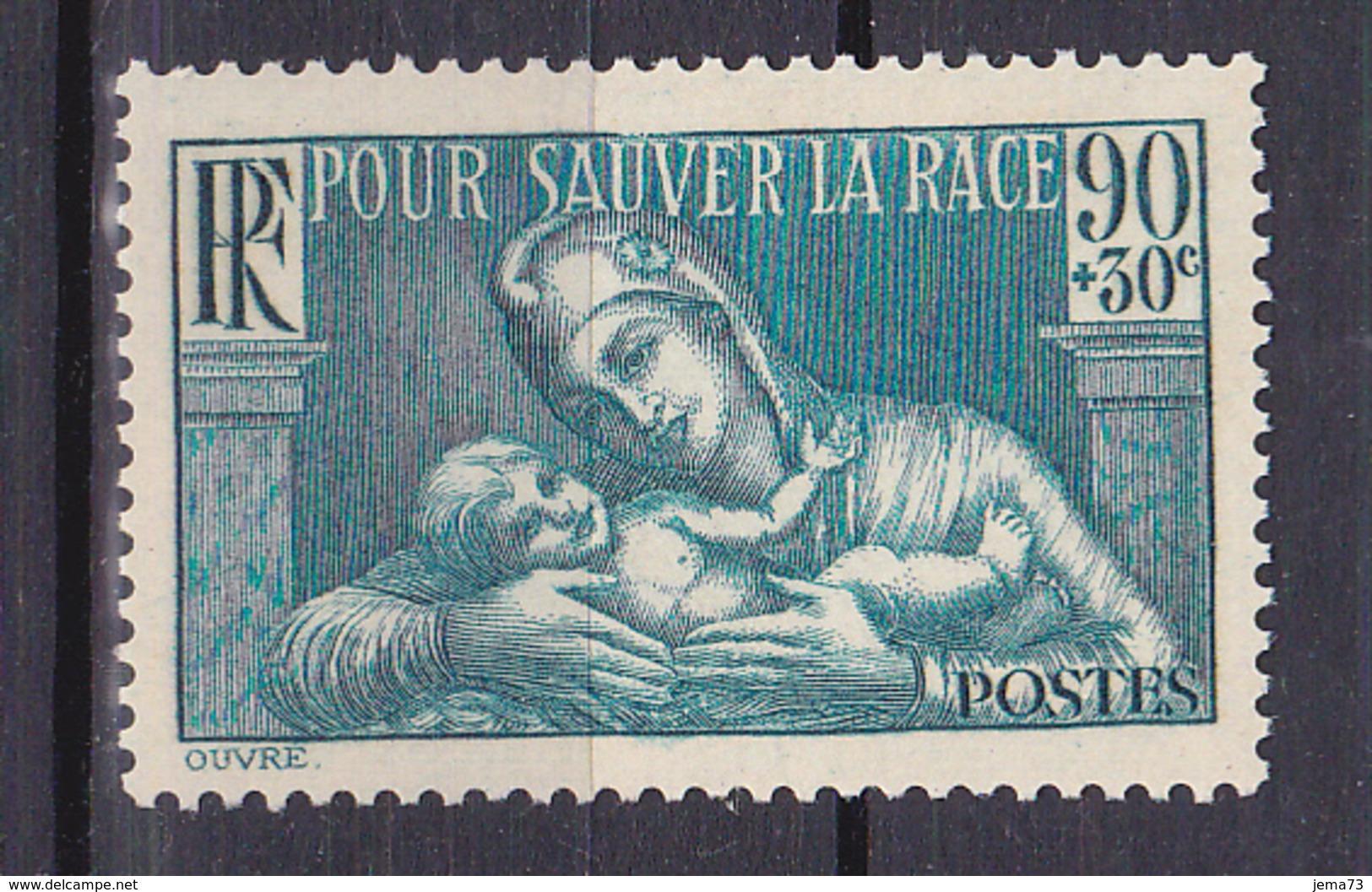 N° 419 Au Profit De La Société Prophylaxie Sanitaire Et Morale:  UnTimbre Neuf Sans Charnière - Unused Stamps