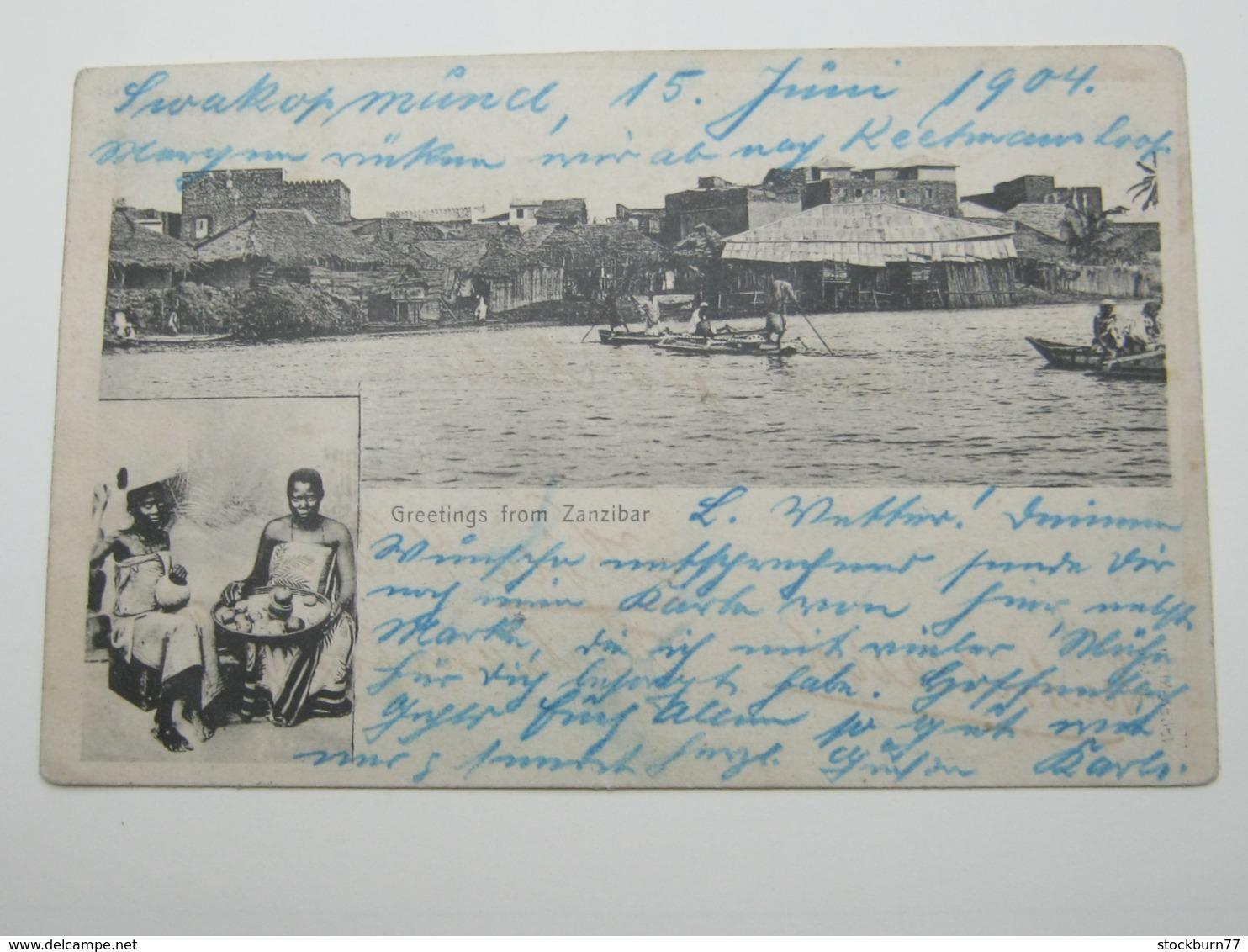 DSW ,  Ansichtskarte  1904 , Swakopmund - Colony: German South West Africa