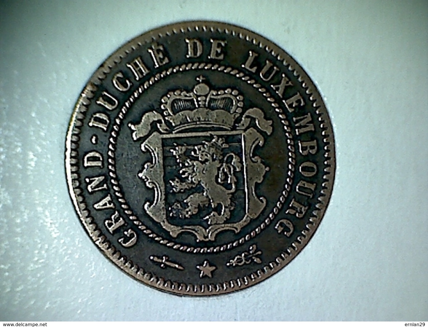 Luxembourg 5 Centimes 1854 - Luxembourg