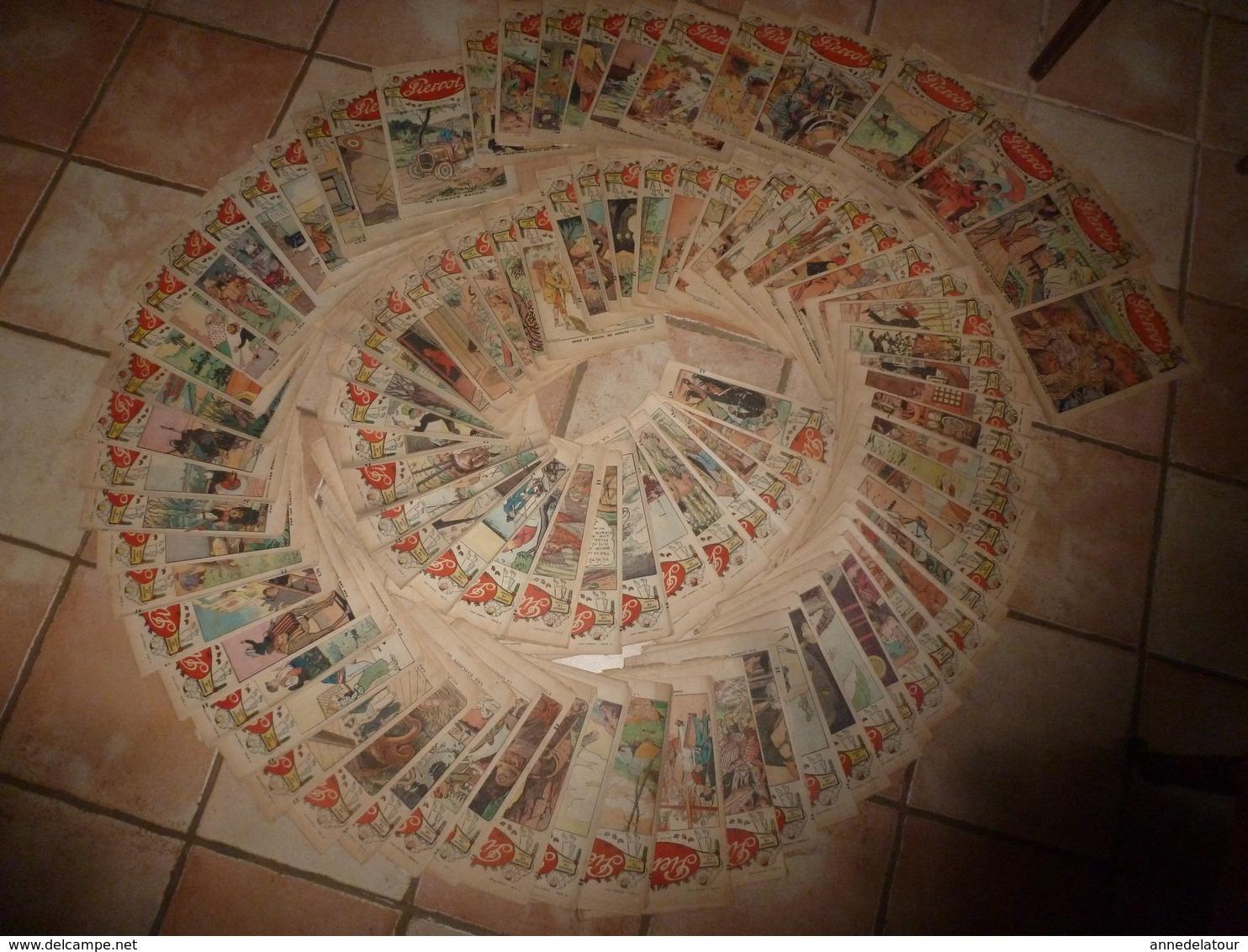 """Important Lot De + De 90 Revues   """"PIERROT Journal Des Garçons""""  Années 1927 Et 1928 - Wholesale, Bulk Lots"""