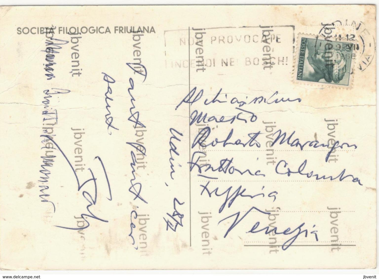 5° CONGRESSO LADINO - UDINE 27.31 Luglio 1966 - Società Filologia Friulana - Demonstrations