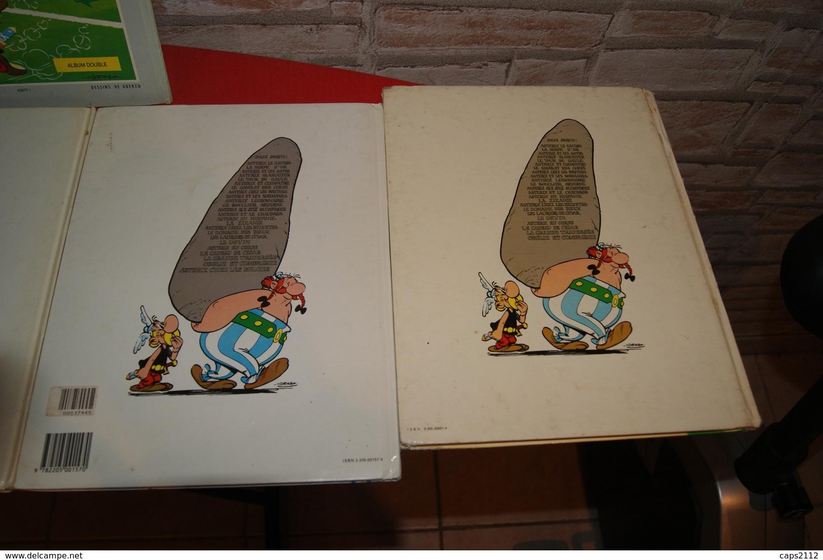 LOT ALBUM ASTERIX - Asterix