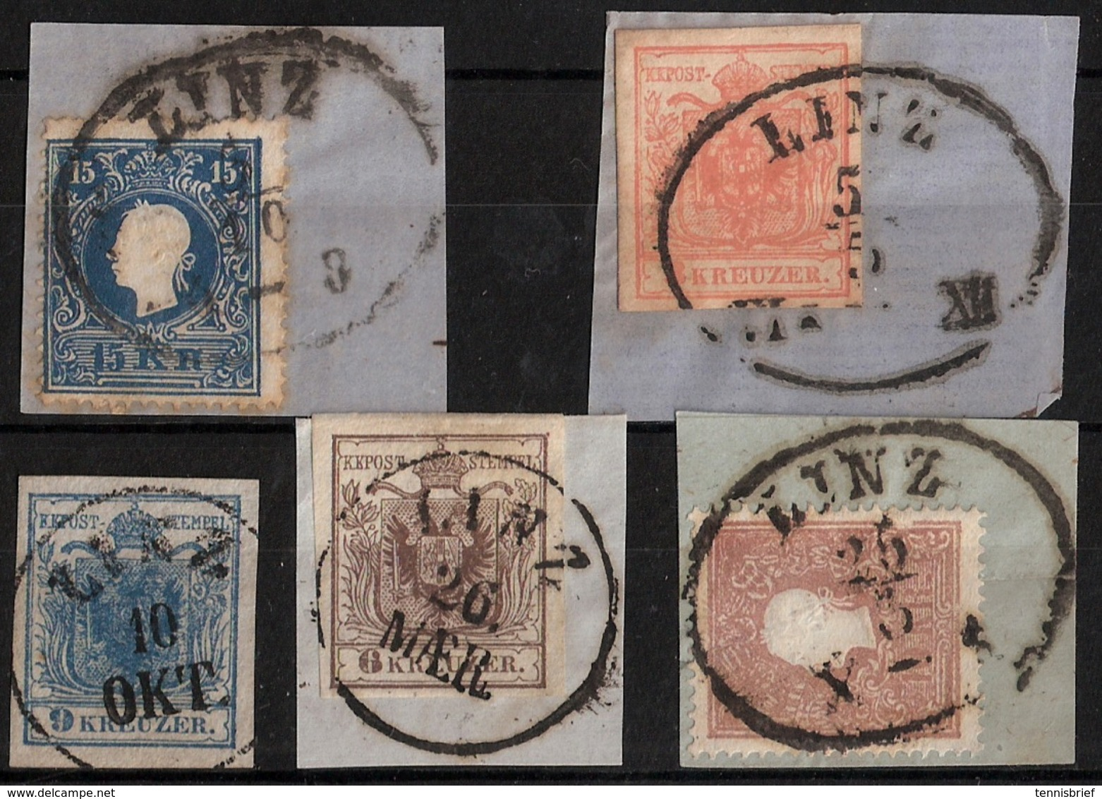 """"""" Linz """" , Luxus Lot Ab 1850  ,   # A1635 - 1850-1918 Empire"""