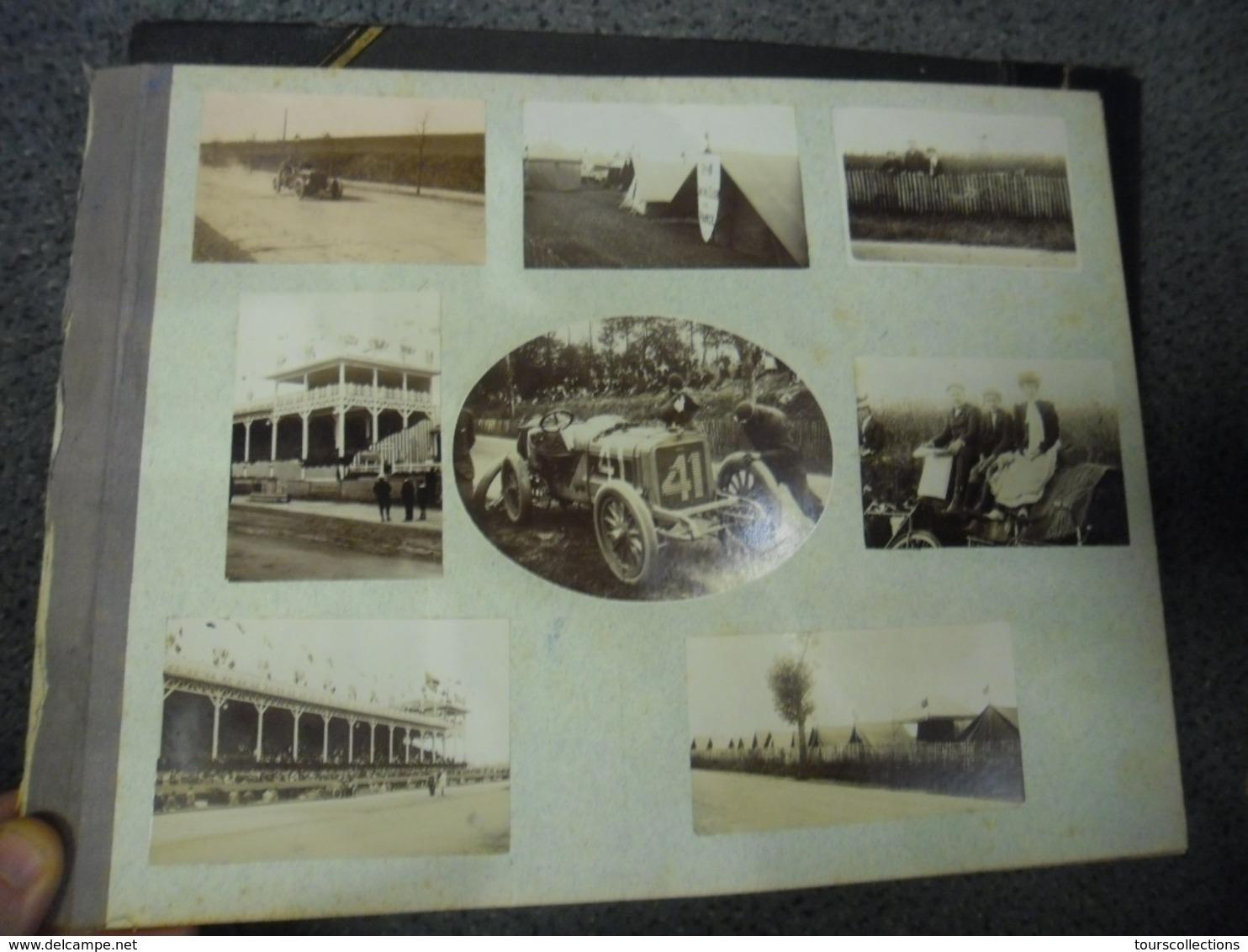23 Photos Du Circuit De L'ACF En 1908 Près De Dieppe (76) Circuit Automobile Club De France Grand Prix Vitesse F1 - Automobiles