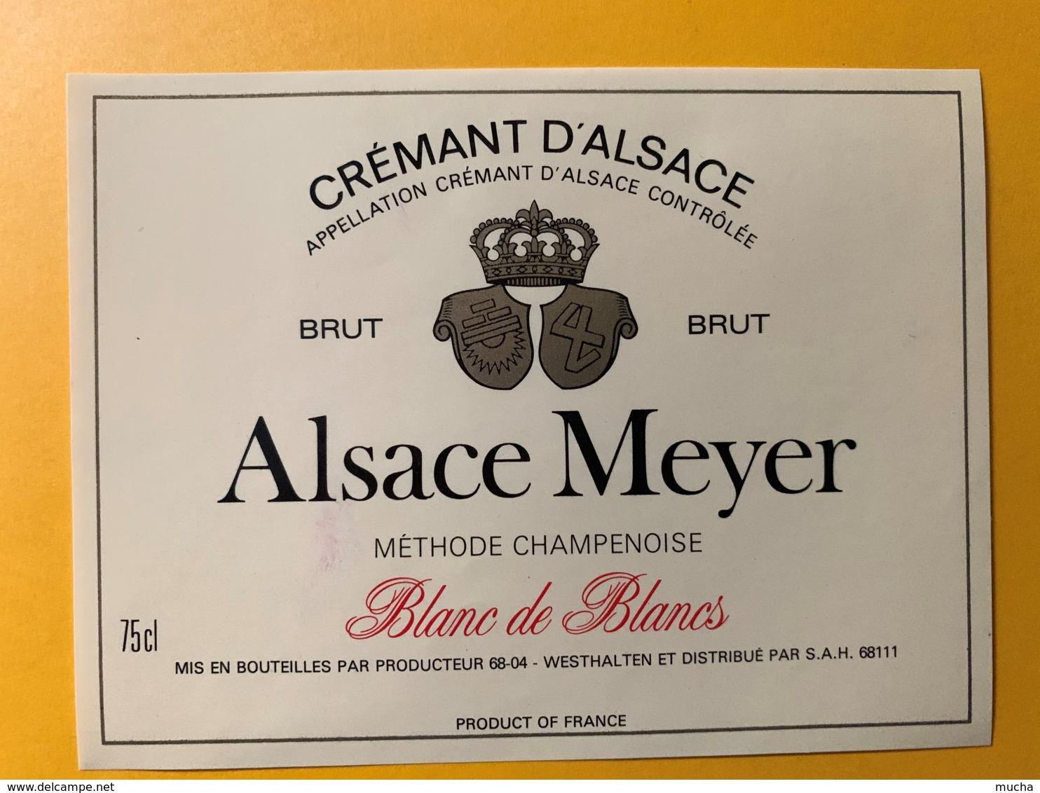 9266 - Crémant D'Alsace  Meyer - Etiquettes