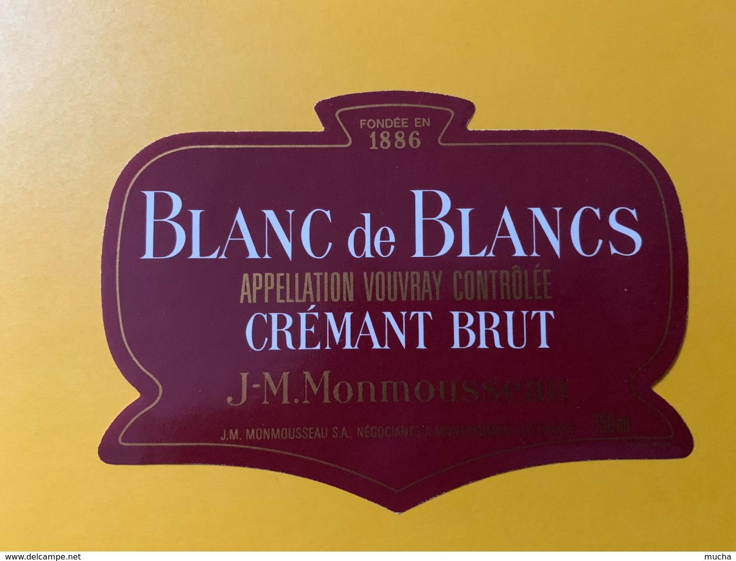 9268 - Crémant Brut Vouvray Monmousseau - Etiquettes