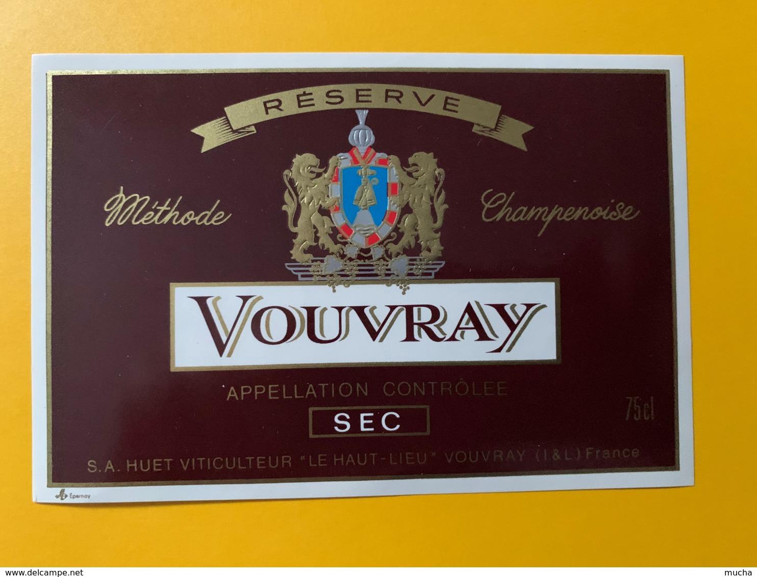 9269 - Vouvray Sec Huet - Etiquettes