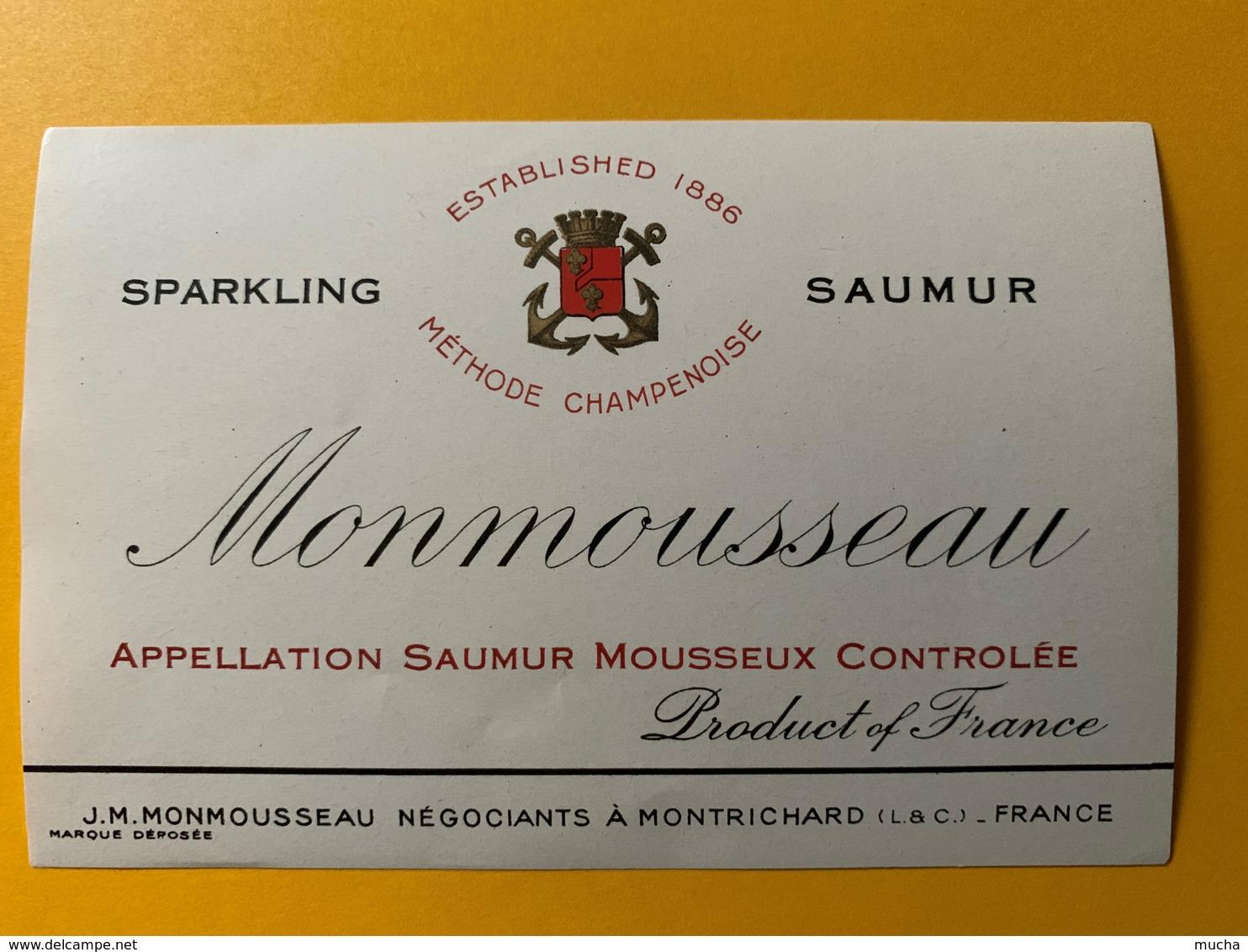 9271 - Sparkling Saumur Monmousseau - Etiquettes