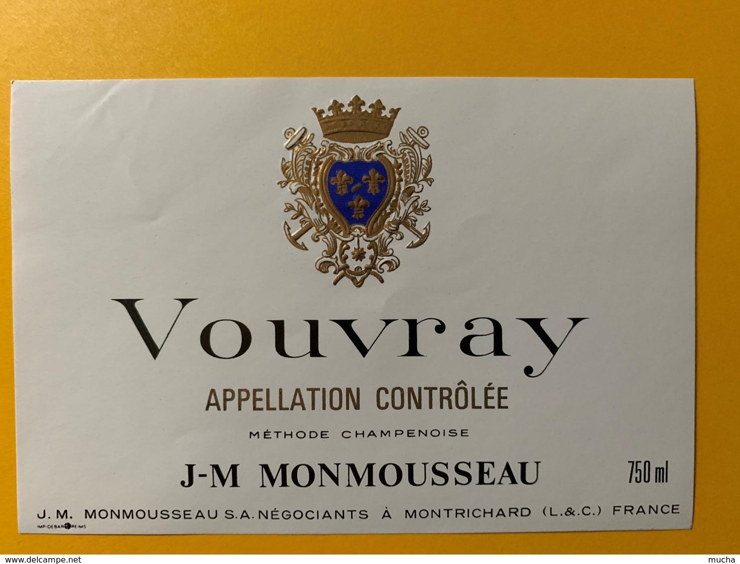 9273 - Vouvry Méthode Champenoise Monmousseau - Etiquettes