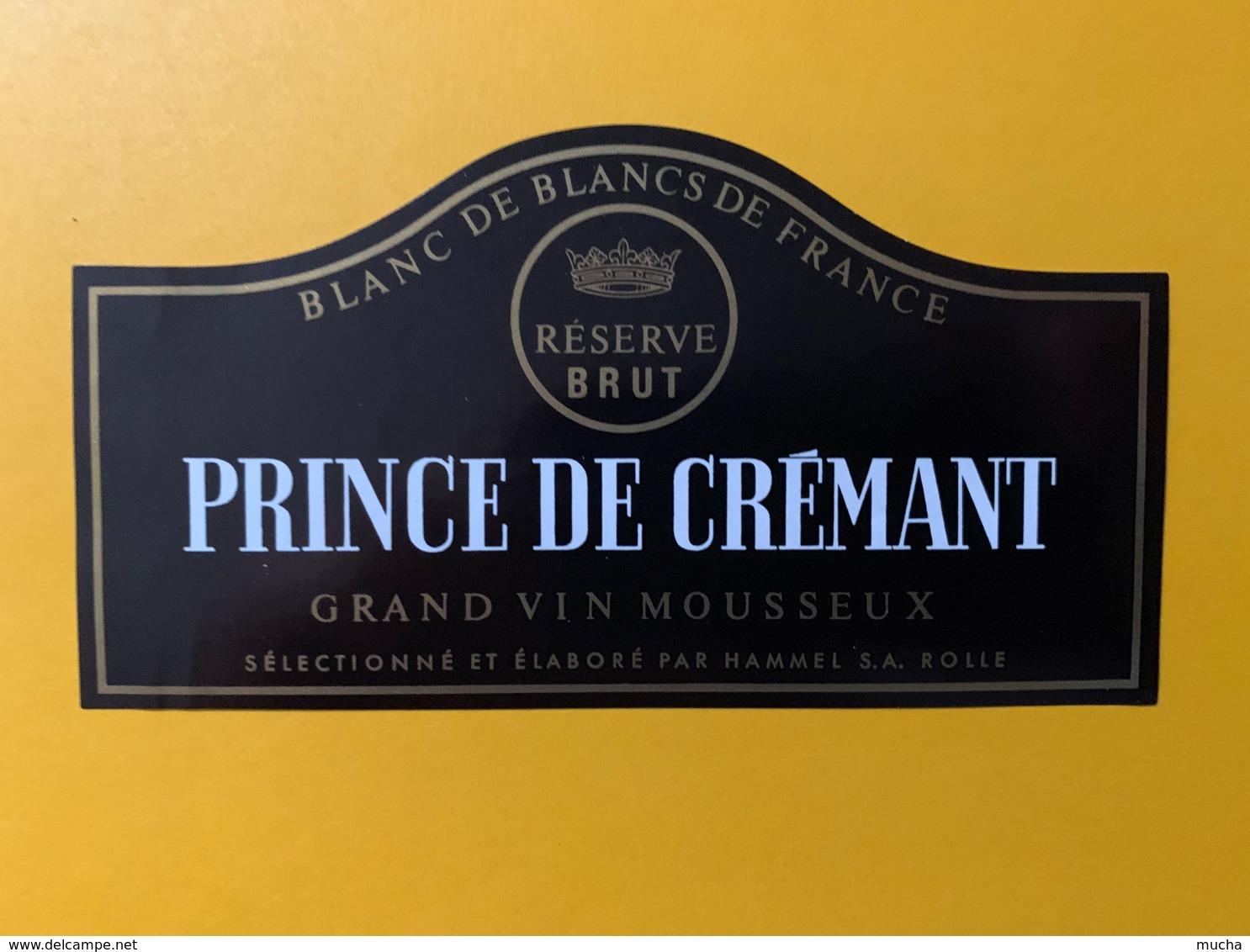 9281 - Prince De Crémant - Etiquettes