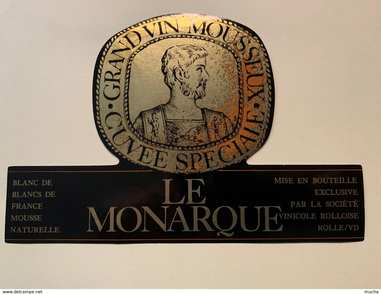 9283 - Le Monarque Grand Vin Mousseux - Etiquettes