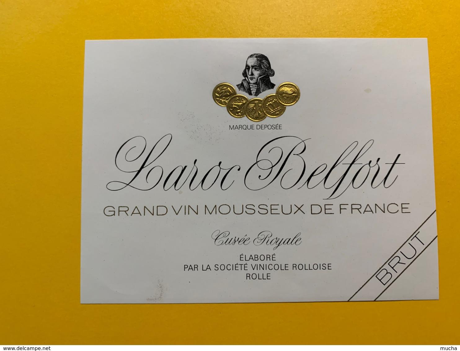 9285 - Vin Mousseux Comte De Saint-Vigne - Etiquettes