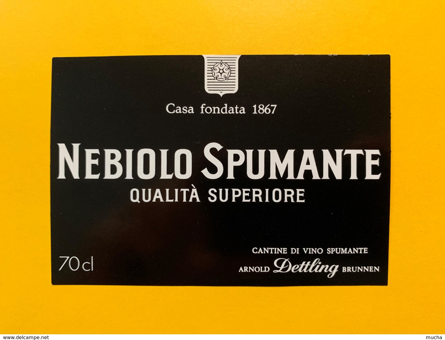 9294 - Nebiolo Spumante Italie - Etiquettes